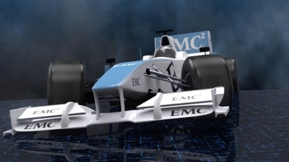 Lotus F1 – EMC MegaLaunch 2013
