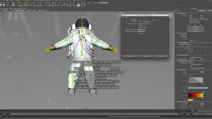 astronaut timelapse