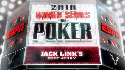 World Series Of Poker – Show Open